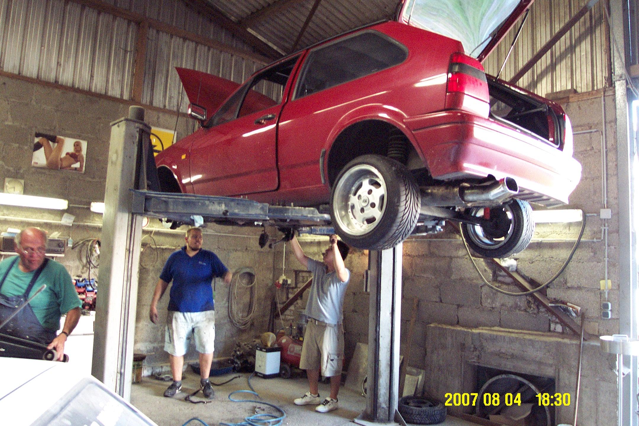 2007-08-04 - polo - der umbau - DCP_0021